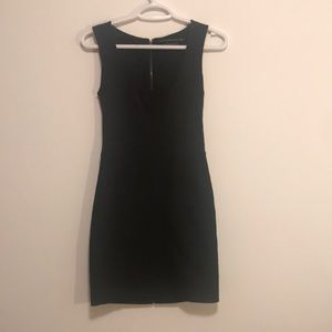 Mackage full zipper back lace dress sz 0